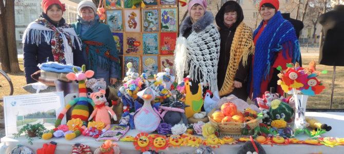 Участие в областном фольклорно-этнографическом  празднике «Широкая Масленица»