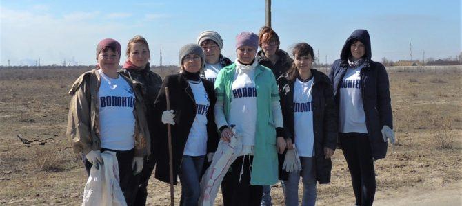 Работа волонтеров