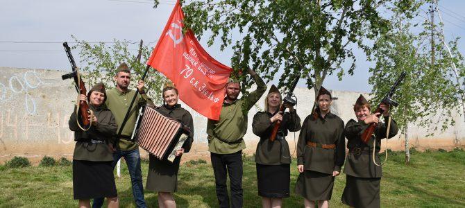 Экспозиция в честь празднования 75-летия Великой Победы.