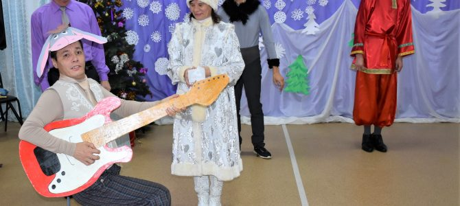 Новогоднее представление «Бременские  музыканты  на новый лад»